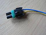 Колодка Lanos роз'єм проводки Ланос №8а лямбда-зонд на 2 контакту з проводами, фото 6