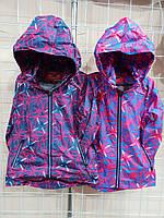Детская куртка ветровка оптом 104-128р