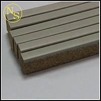 Пробковый порожек (компенсатор) RG 109 светло-серый 900х15х7мм, фото 1
