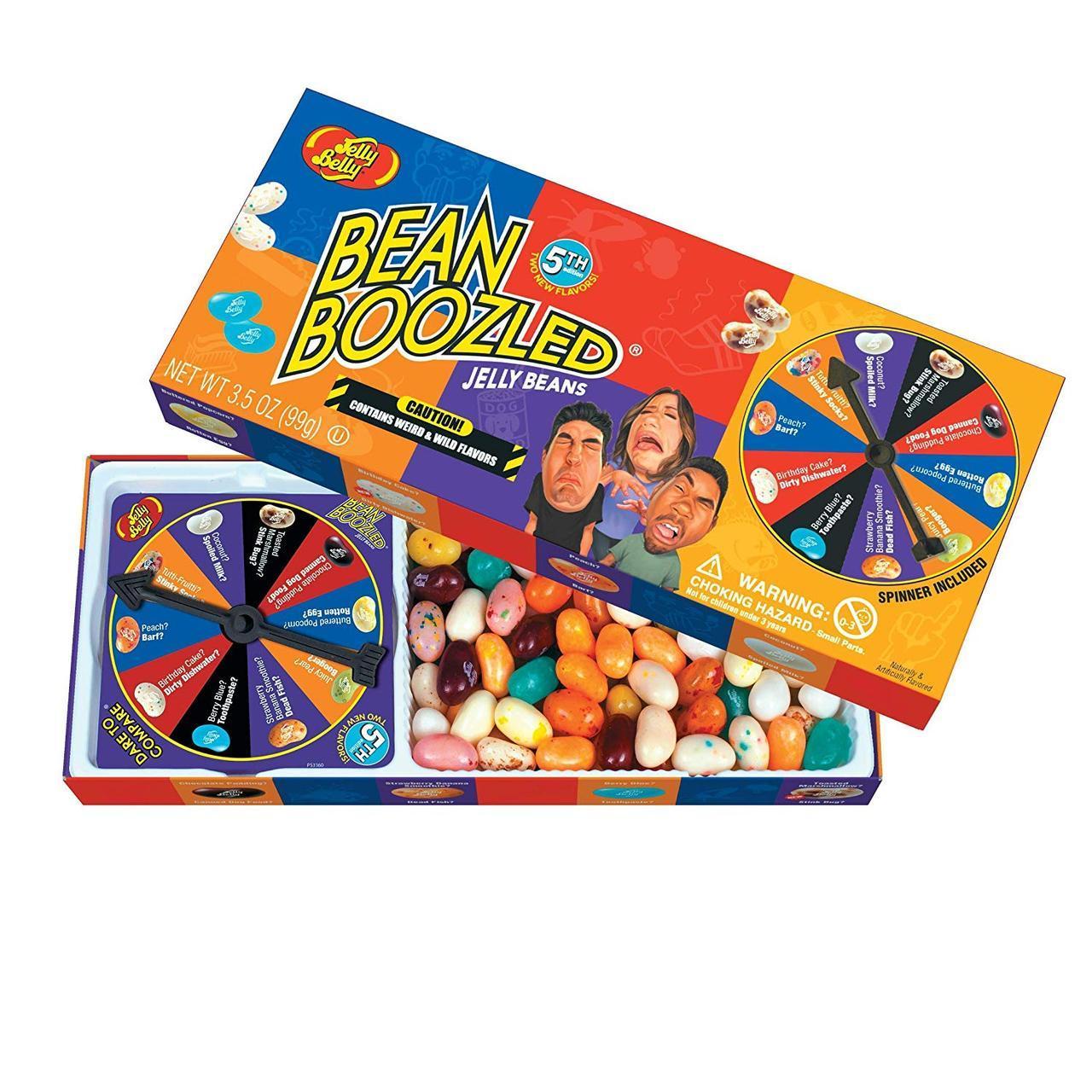 Игра Bean Boozled 5! Game. НОВОЕ ИЗДАНИЕ!!!  рулетка и конфеты! Jelly Belly.Бин Бузлд Джели Бели. Издание 5!