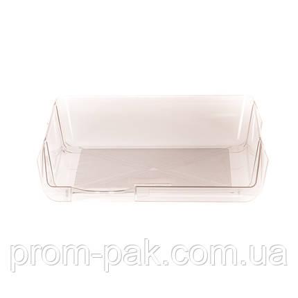 Горизонтальный лоток для бумаг дымчатый, фото 2