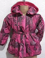 Курточка на флисе для девочек , примерно  2-5 лет