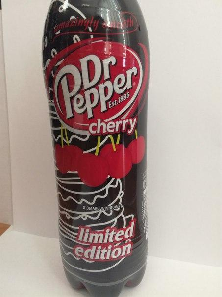 Dr. Pepper cherry Limited edition 0,5 l