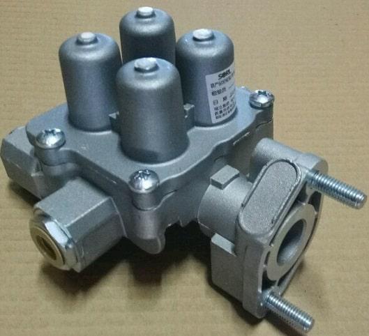Клапан тормозной воздушный 4-х контурныйFAW CA3252(Фав 3252)