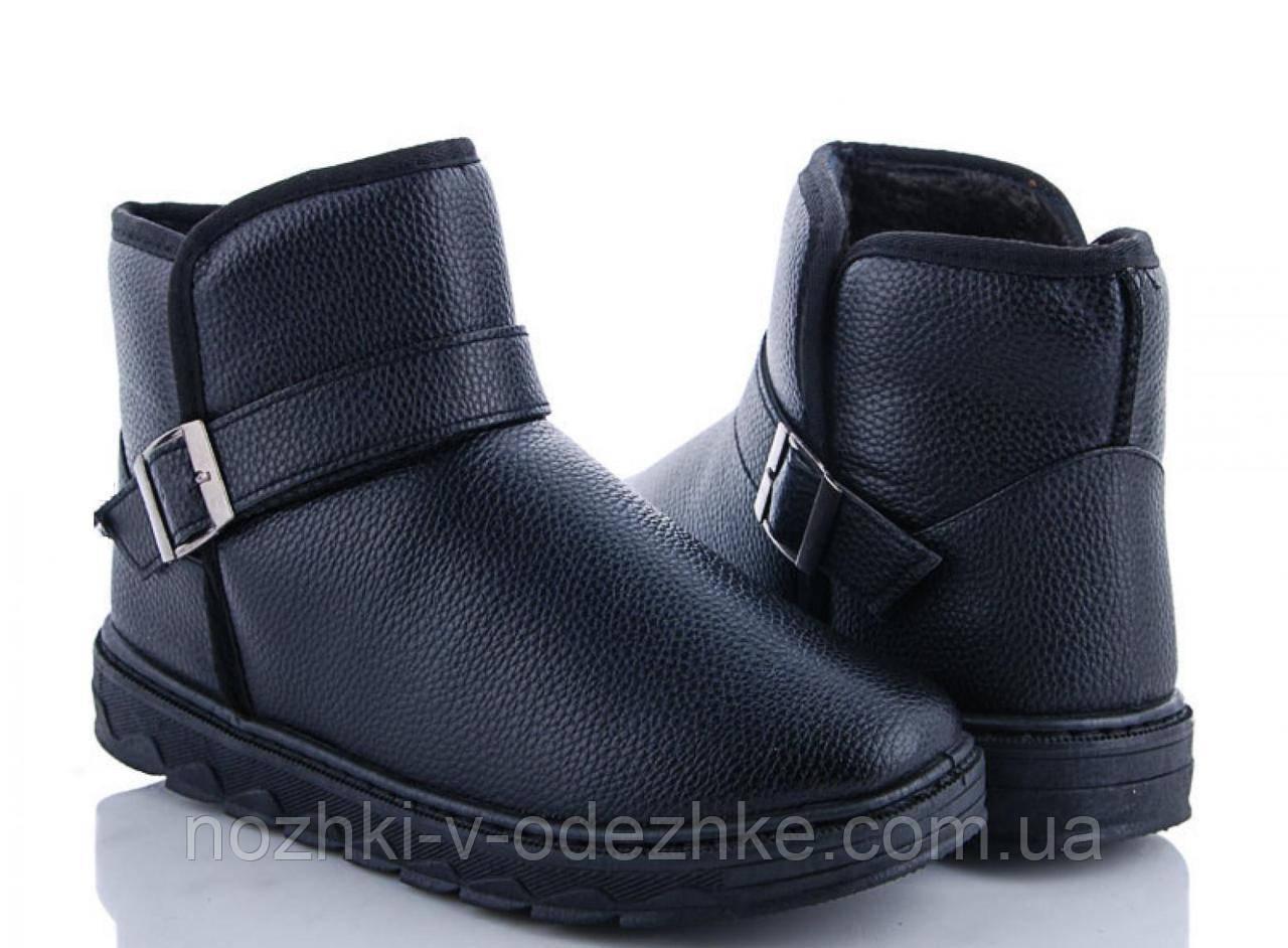e252af54 Короткие черные мужские угги, ботинки эко кожа 39 40 41 42 подростковые - Интернет  магазин