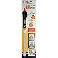 Аквариумный нагреватель с термостатом Hidom НТ-320 200W