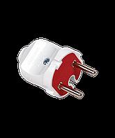 Вилка электрическая прямая 10А (без з/к)