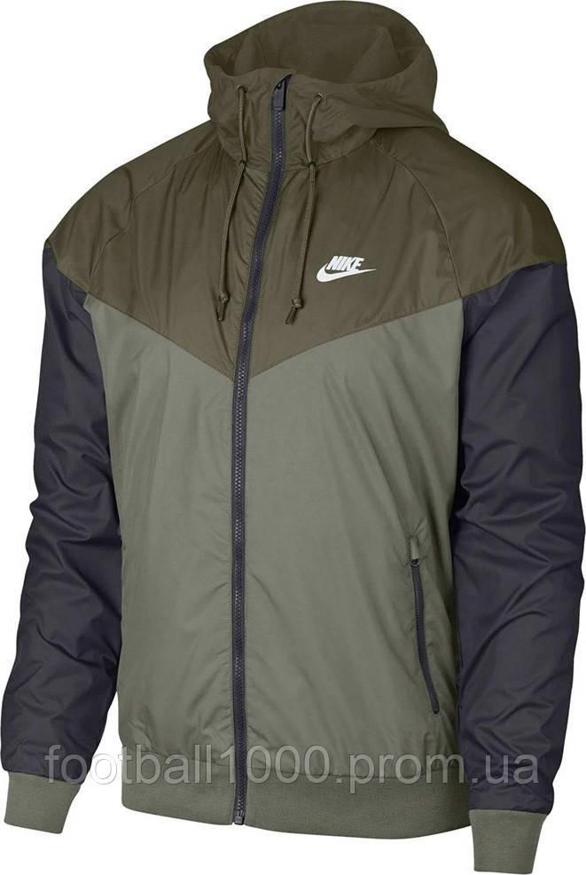 67a6b4eb Куртка мужская Nike Sportswear Men's Windrunner Jacket Hoodie 727324-395