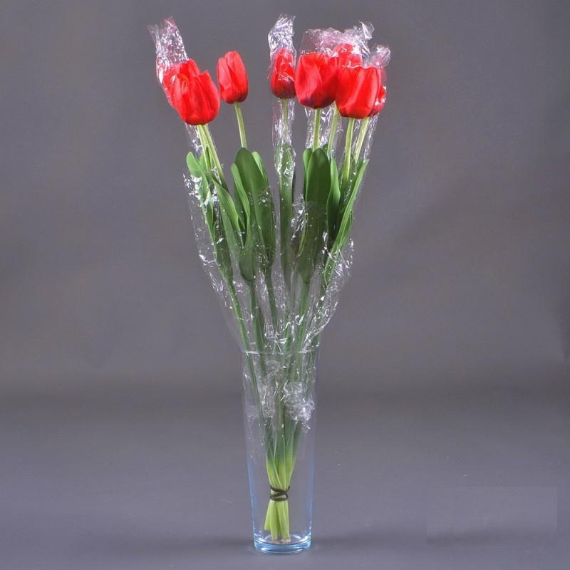 Тюльпан малый штучный, 60 см NZ - 4 (90 шт./уп.) Искусственные цветы оптом