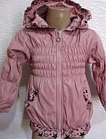 Курточка для девочек на 1-3 года в расцвеках