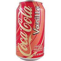 Газированная вода Coca Cola Vanilla 0,355 l USA