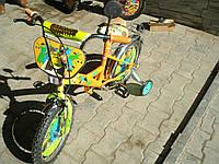 Велосипед Шрек  (16) 2-х колесный со  звонком ,зеркалом,ручным тормозом, фото 1