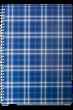 Блокнот А4 48л. SHOTLANDKA пружина сбоку, клетка, фото 3