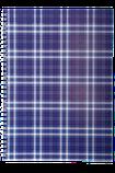 Блокнот А4 48л. SHOTLANDKA пружина сбоку, клетка, фото 2