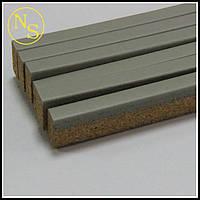 Пробковый порожек (компенсатор) RG 112 серый 900х15х7мм, фото 1