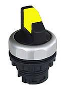 Ex9P1 Sl y, 2-позиционный переключатель I-0, с подсветкой стабильный (105674), желтый