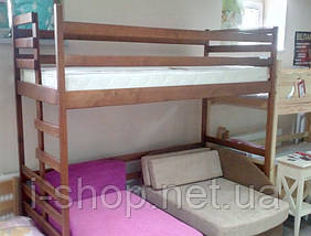 """Двухъярусная кровать-чердак """"Трансформер"""" ольха, фото 2"""