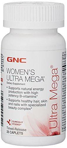 Витамины для женщин GNC Womens Ultra Mega 28 caps