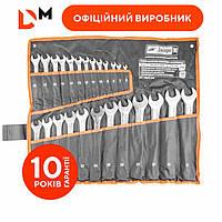 Набор ключей рожково-накидных Дніпро-М (25 шт.) (6-32 мм)