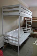 """Двухъярусная кровать-чердак """"Трансформер"""" ольха, фото 3"""