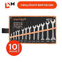 Набор ключей рожковых Дніпро-М (12 шт.)