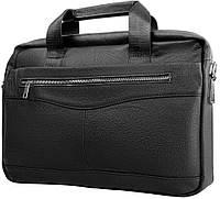 bc0741e72195 Мужская деловая сумка ETERNO RB-BX1128A, натуральная кожа, черная