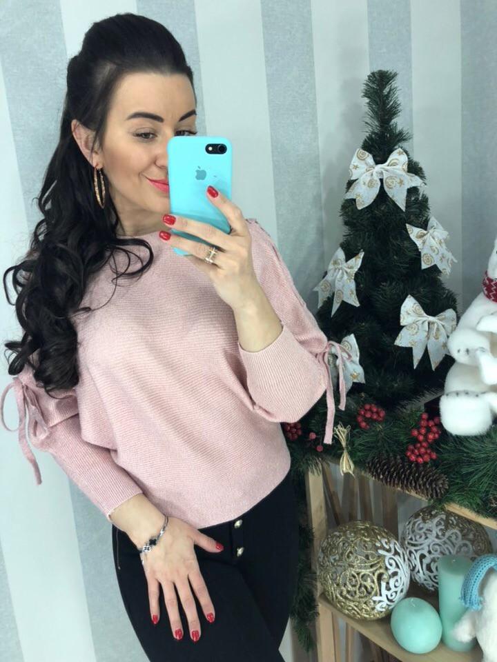 Женский очаровательный свитер  (Фабричный Китай ) Код 0156