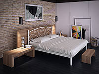 Металлическая кровать Карисса двухспальная, фото 1