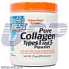 Doctor's BEST Collagen Types 1&3 200g коллаген для суставов и связок кожи волос и ногтей