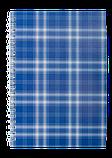 Блокнот А6 48л SHOTLANDKA пружина сбоку, клетка, фото 2