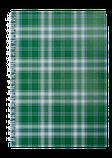 Блокнот А6 48л SHOTLANDKA пружина сбоку, клетка, фото 3