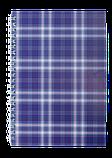 Блокнот А6 48л SHOTLANDKA пружина сбоку, клетка, фото 4