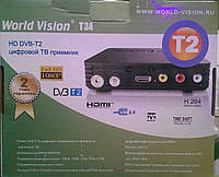WORLD VISION T34 Тюнер т2