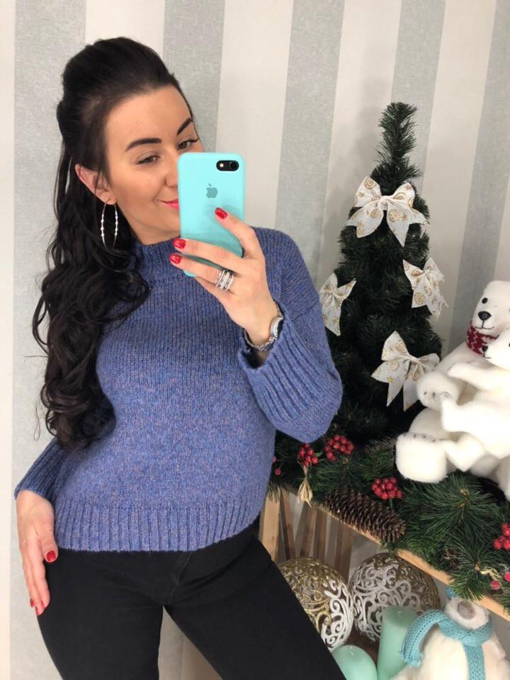 Женский элегантный свитер  (Фабричный Китай ) Код 0297