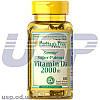 Puritan's Pride Vitamin D3 2000 IU 100 шт витамин д3 для костей зубов кожи щитовидной улучшение обмена веществ