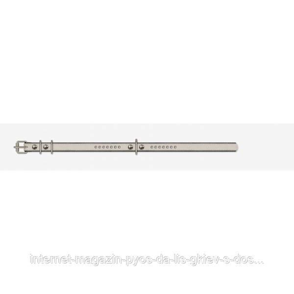 Кожаный ошейник (15 мм х 40 см)