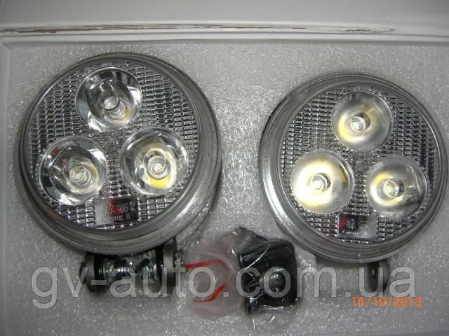 Стробоскопы LED DB-2001 9W с пультом Д/У. Белый.