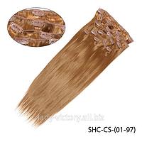 Искусственные волосы  для наращивания   SHC-CS-(01-60)