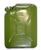 JERRY CAN - Металлическая канистра для топлива, Green, 20L