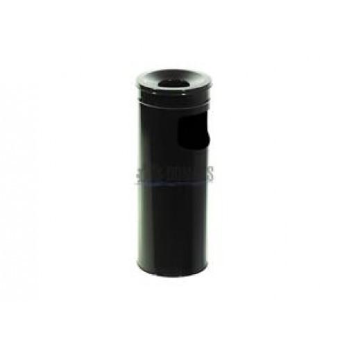 0280-В Урна -пепельница,металл окрашенный 15 л черная