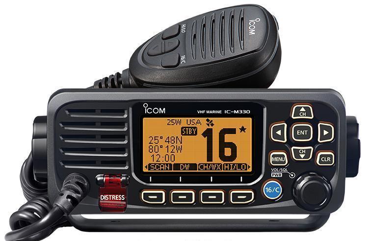 Морская радиостанция ICOM IC-M330  (Бортовая , стационарная)