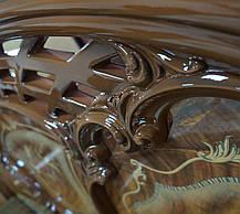 Ліжко Кармен Нова 1,6 Горіх лак (Світ Меблів TM), фото 2