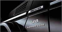 Вставки в молдинги AMG Mercedes G-Сlass W463