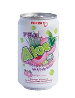 Pokka Aloe peach juice