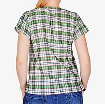 Летняя футболка в клетку (арт. W747/01), фото 2