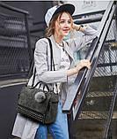 женская сумочка с пушком, фото 8