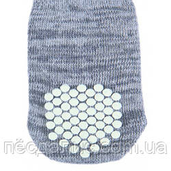 Носки для собак антискольжение (хлопок), 1 уп - S-М 1 уп - L-XL, TX-19504