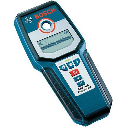Детектор проводки Bosch GMS 120 Professional 0601081000, фото 2