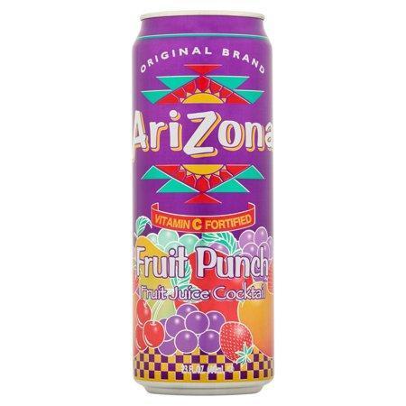 Холодный чай Arizona Fruit -Punch