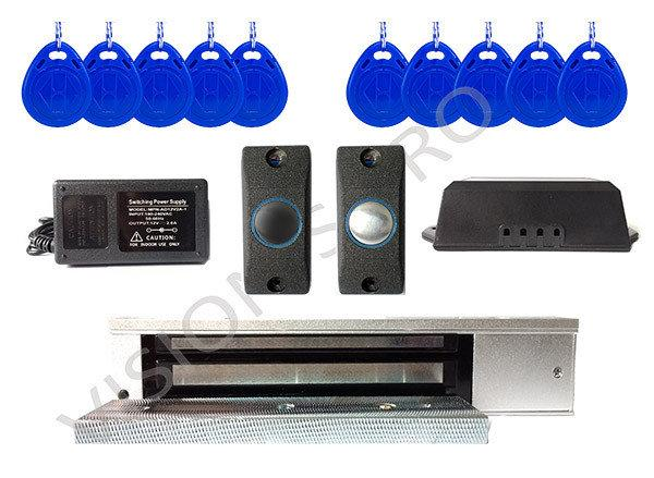 Готовый комплект системы контроля доступа с электромагнитным замком на 280  кг. 079a78ea4a5fb